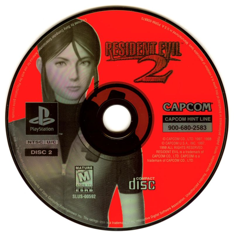 Resident evil 2 claire disc psp