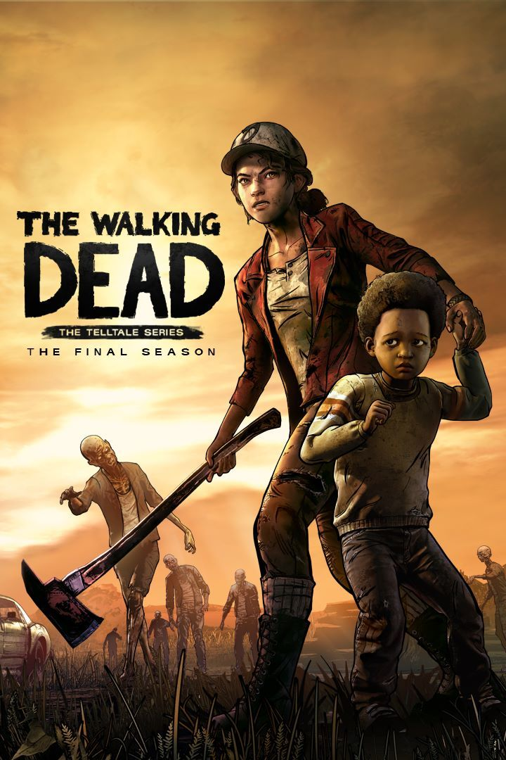 The Walking Dead: The Final Season Xbox One Front Cover