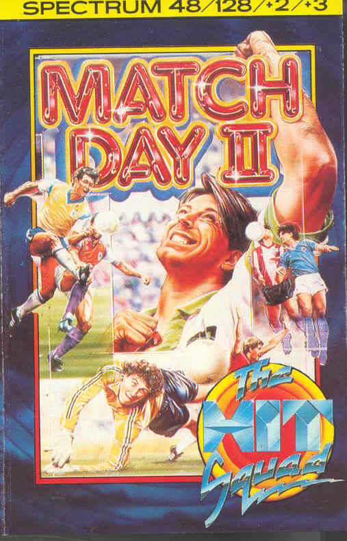 Match Day II ZX Spectrum Front Cover