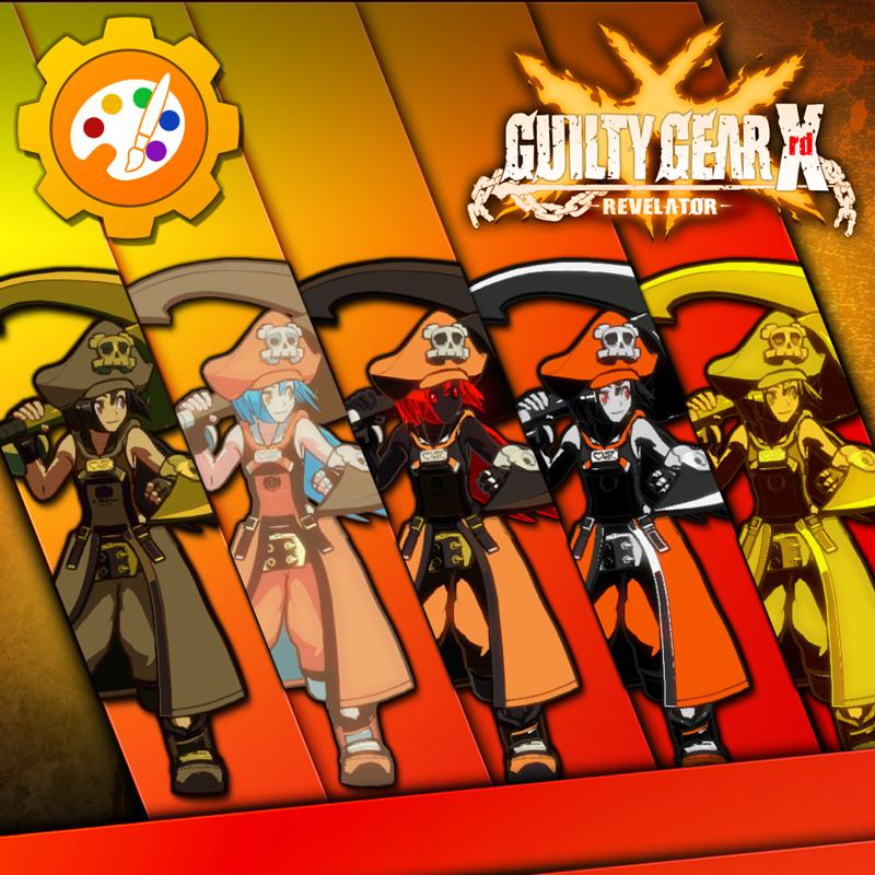 Guilty Gear Xrd: -Revelator- - Character Colors: May PlayStation 4 Front Cover