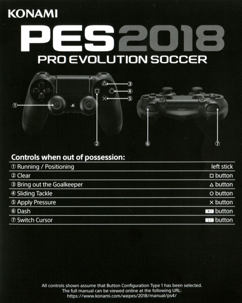 PES 2018: Pro Evolution Soccer (2017) PlayStation 3 box
