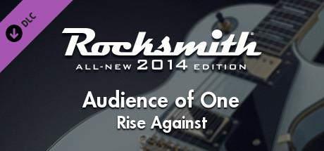 Rocksmith: All-new 2014 Edition - Rise Against: Audience of One