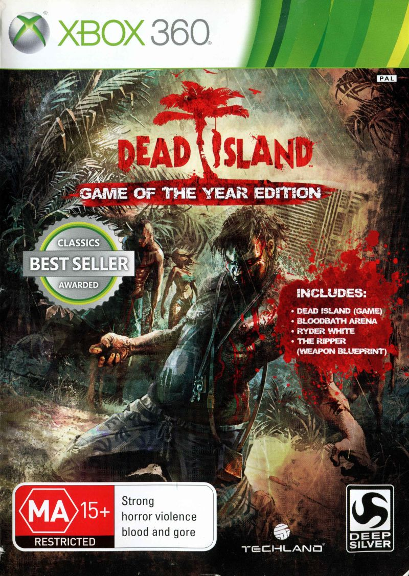 Dead island game of the year edition 2012 playstation 3 box cover dead island game of the year edition xbox 360 front cover malvernweather Choice Image