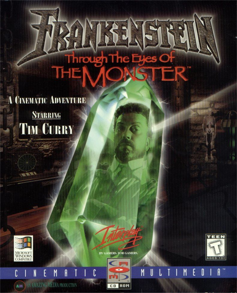 Frankenstein: Through the Eyes of the Monster Windows Front Cover