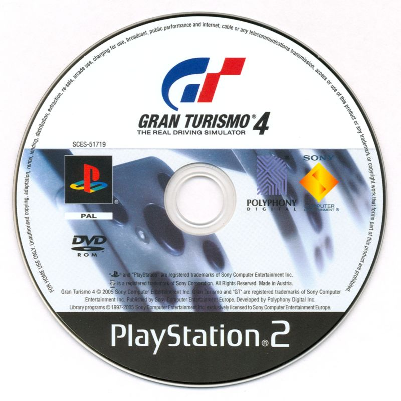 gran turismo 4 2004 playstation 2 box cover art mobygames. Black Bedroom Furniture Sets. Home Design Ideas