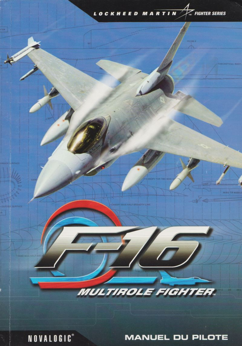 F-16 Multirole Fighter Windows Manual Front (96-page)