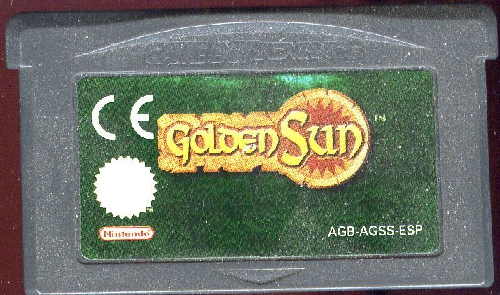Golden Sun Game Boy Advance Media