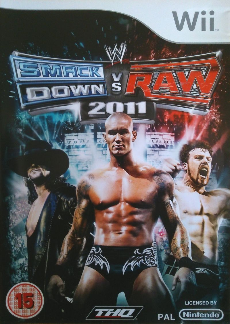 WWE Smackdown vs  Raw 2011 for Wii (2010) - MobyGames