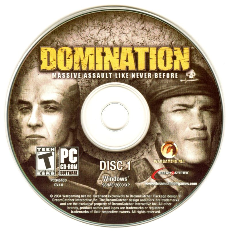 Domination Windows Media Disc 1
