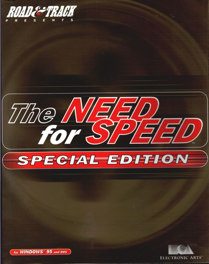 The Need for Speed: Special Edition DOS Front Cover