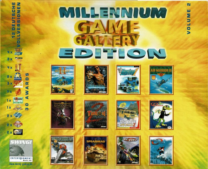 Game Gallery Millennium Edition For Windows 2000 Mobyrank Mobygames