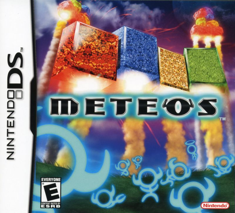 Meteos Nintendo DS Front Cover