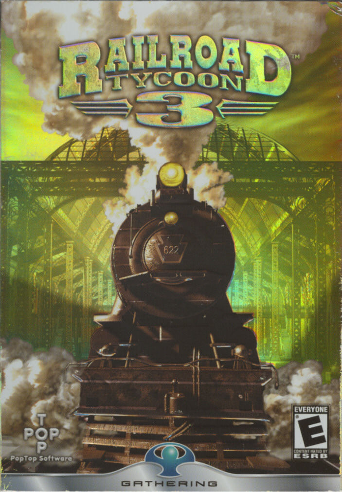 Railroad Tycoon 3 Windows Front Cover