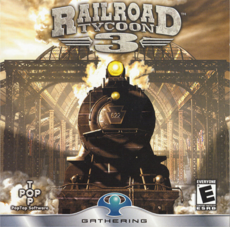 Railroad Tycoon 3 Windows Other Jewel Case - Front