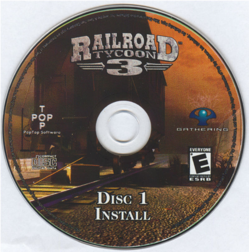 Railroad Tycoon 3 Windows Media Disc 1