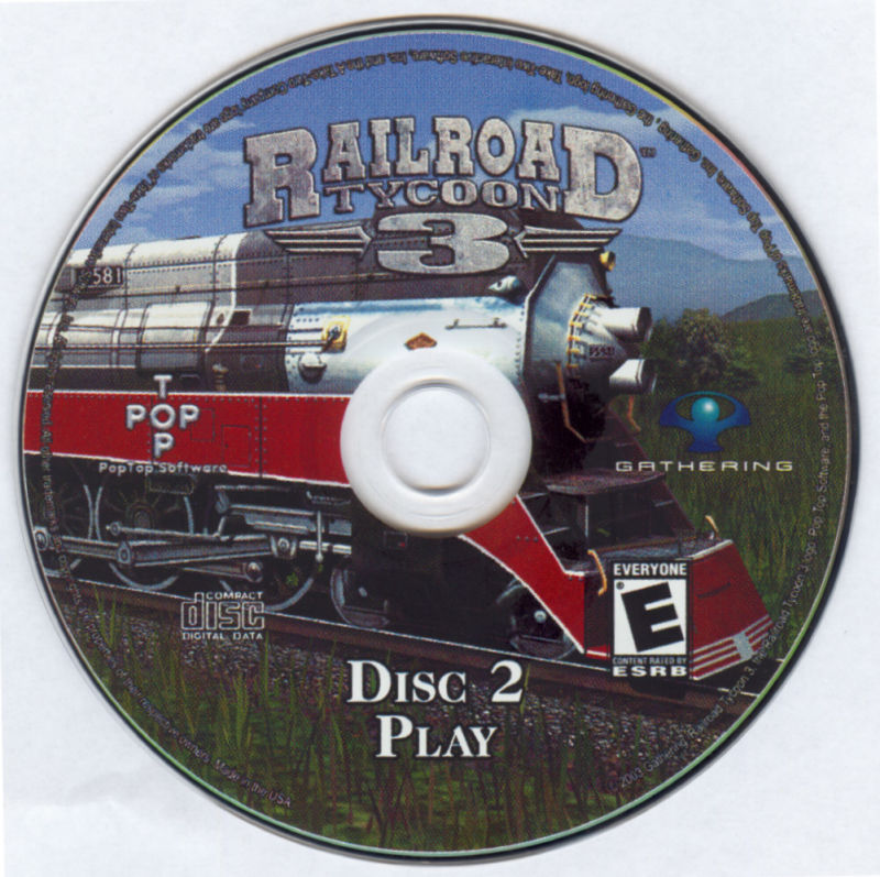 Railroad Tycoon 3 Windows Media Disc 2
