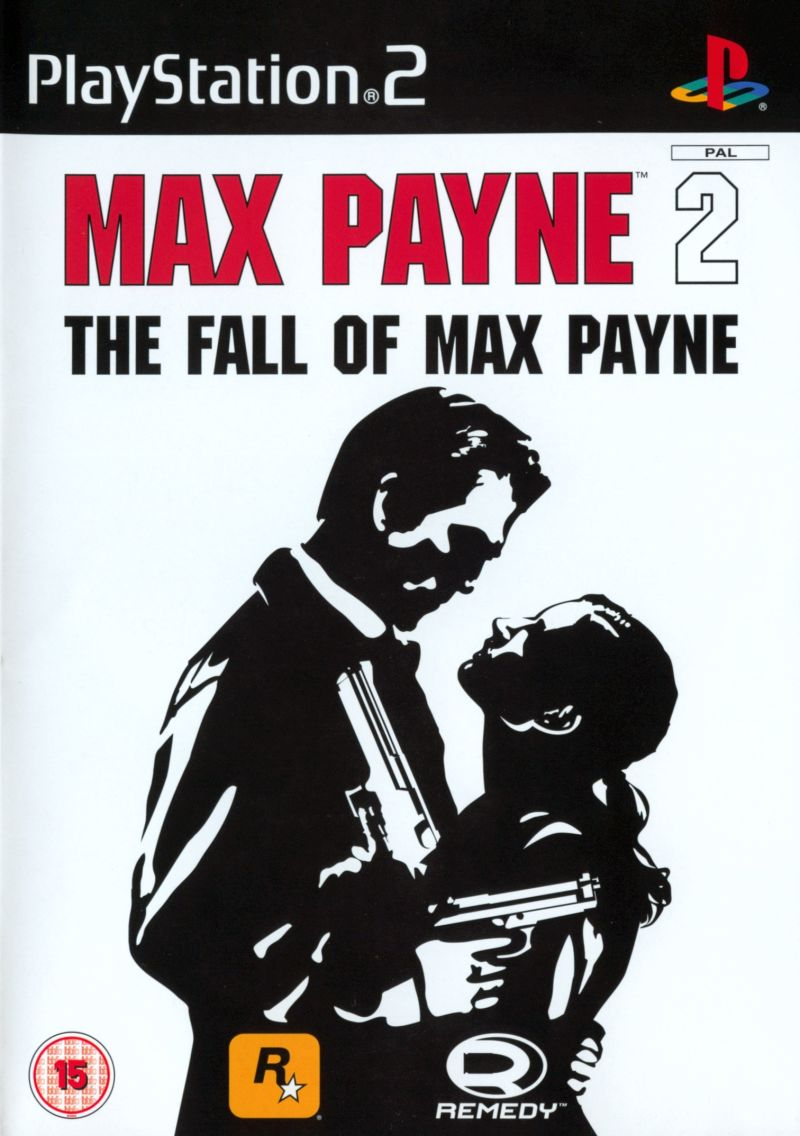Max Payne 2: The Fall of Max Payne PlayStation 2 Front Cover