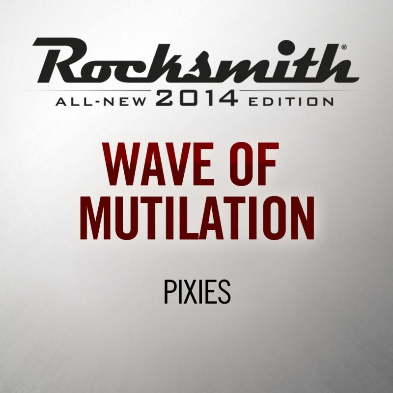 Rocksmith: All-new 2014 Edition - Pixies: Wave of Mutilation 2016 pc game Img-1