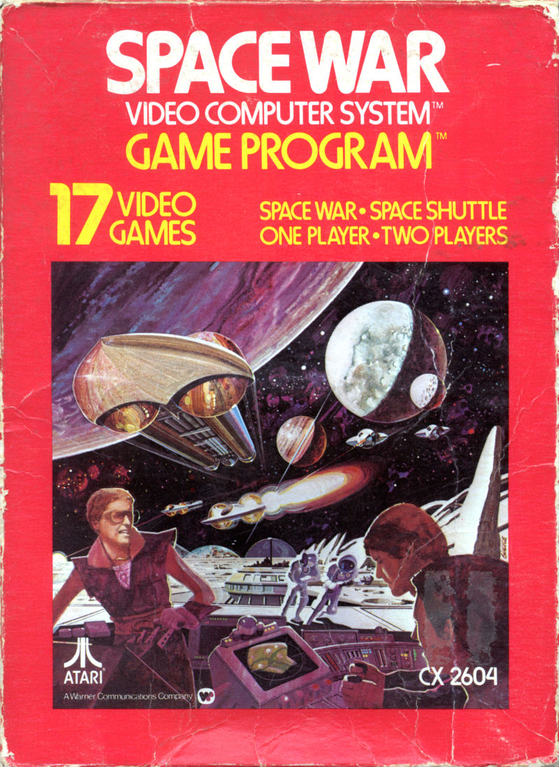 Space War Atari 2600 Front Cover