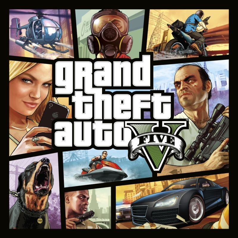 Grand Theft Auto V & Great White Shark Cash Card Bundle for