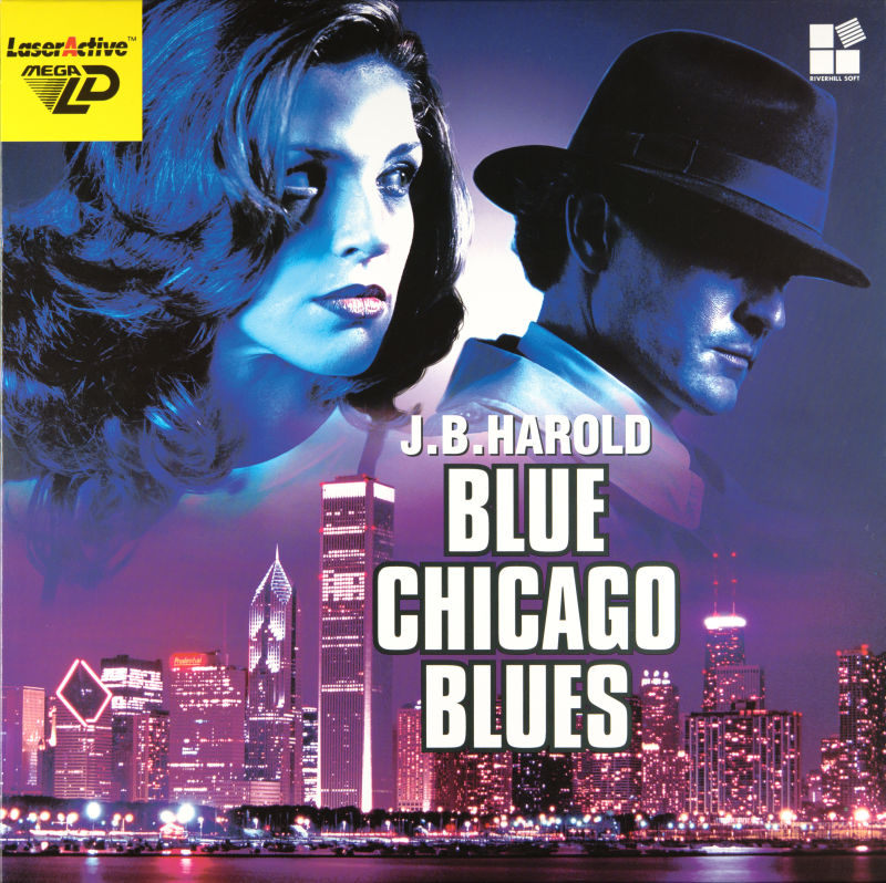 J.B. Harold: Blue Chicago Blues LaserActive Front Cover