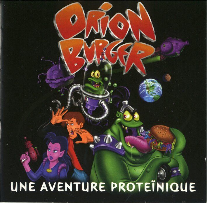 Orion Burger DOS Other Jewel Case - Front