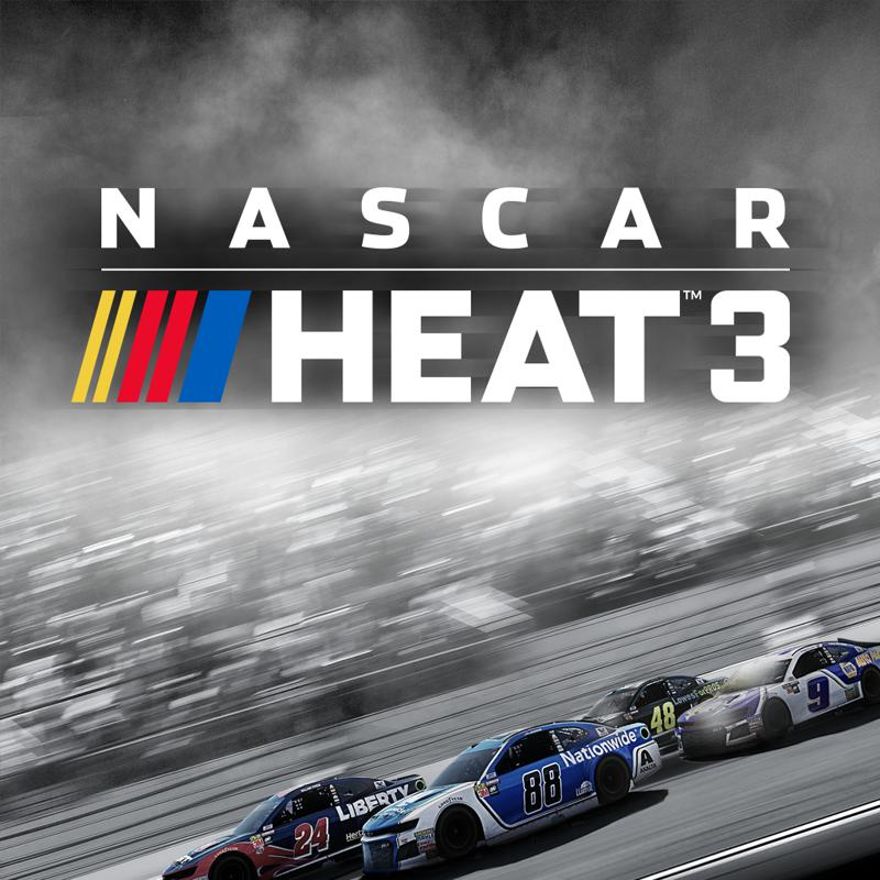 NASCAR Heat 3: Bundle PlayStation 4 Front Cover