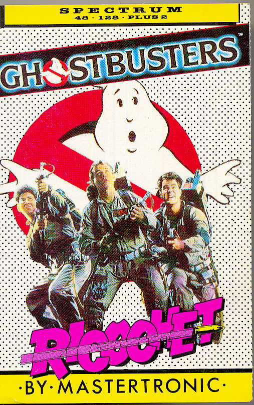 Ghostbusters ZX Spectrum Front Cover