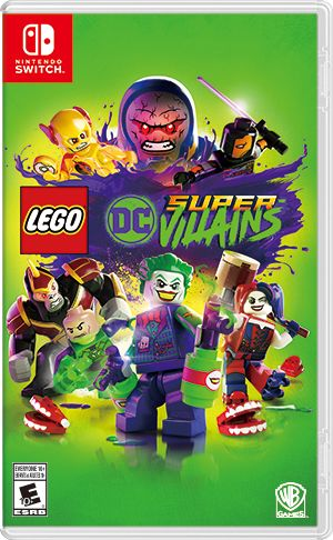 Lego Dc Super Villains For Nintendo Switch 2018 Mobygames