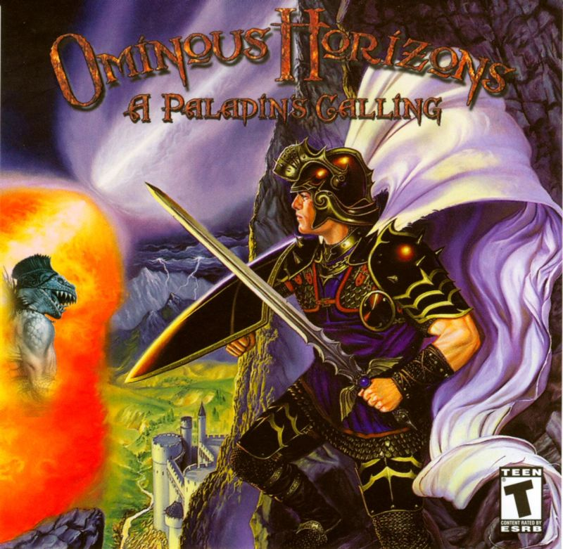 Ominous Horizons: A Paladin's Calling (2001) Windows box cover art -  MobyGames