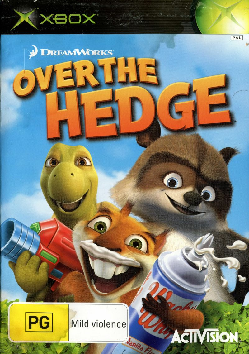 Over The Hedge 2006 Box Cover Art Mobygames