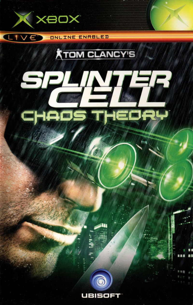 Tom clancy's splinter cell chaos theory ps2 playstation 2 | ebay.