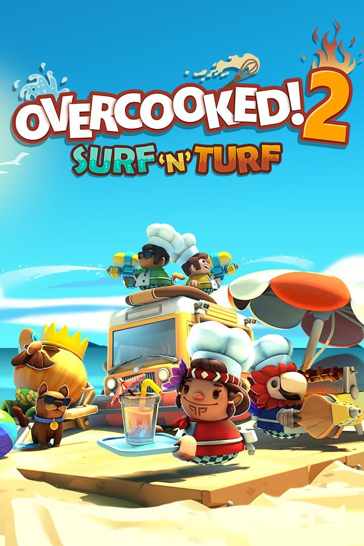 Turf N Surf >> Overcooked! 2: Surf 'n' Turf for Xbox One (2018) - MobyGames