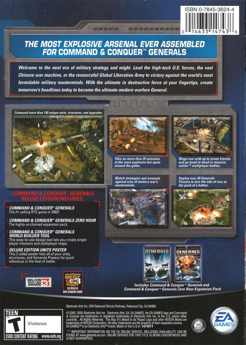 Command & Conquer: Generals - Deluxe Edition (2006