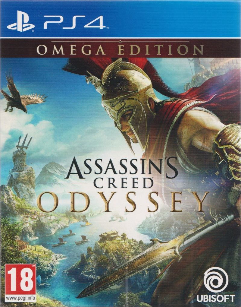 Odyssey 2018 Australia >> Assassin's Creed: Odyssey (Omega Edition) for PlayStation 4 (2018) - MobyGames
