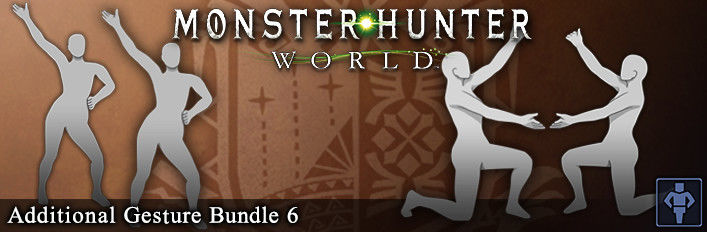 Monster Hunter: World - Additional Gesture Bundle 6