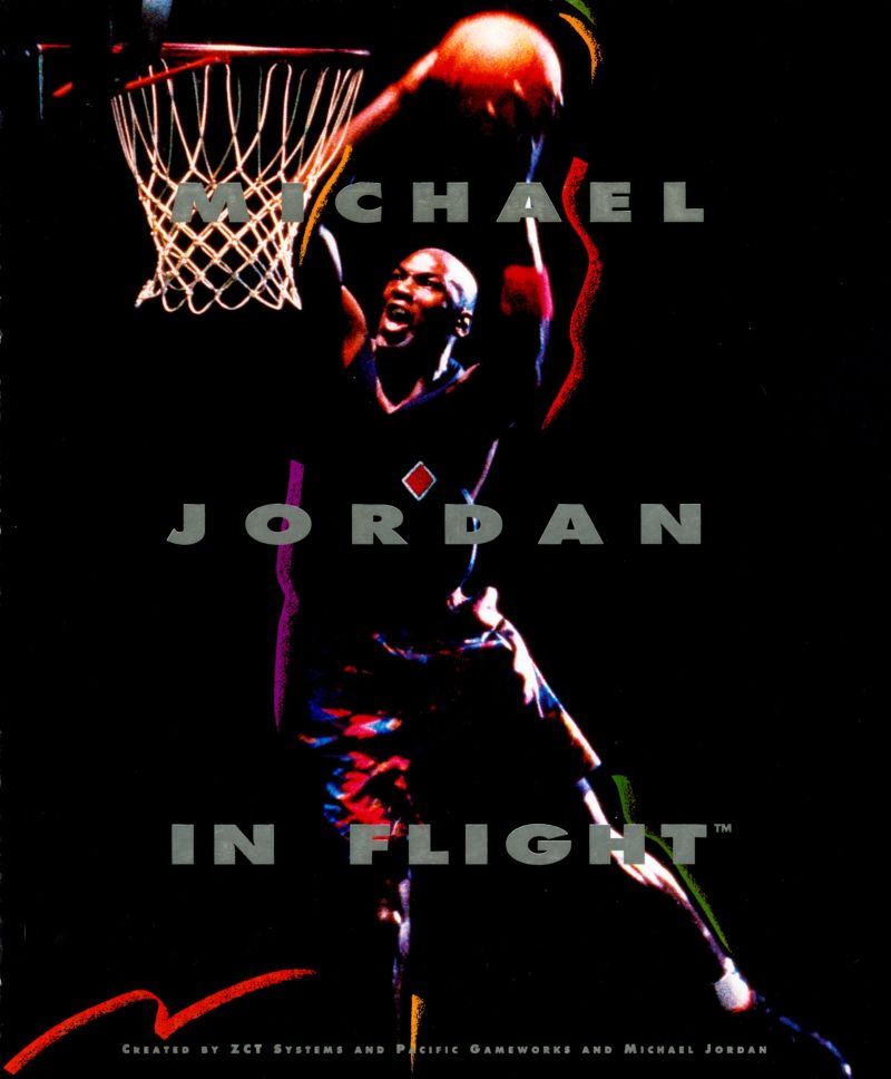 Michael Jordan in Flight DOS Front Cover
