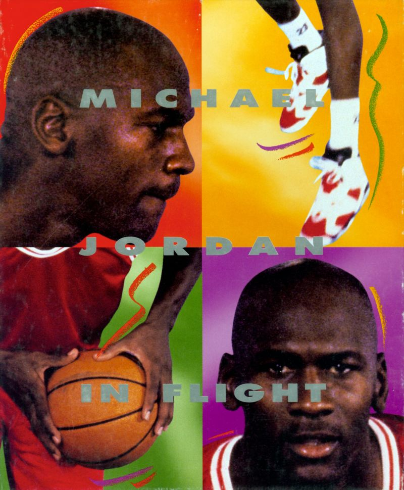 Michael Jordan in Flight DOS Back Cover This really was the back cover.  The typical screenshots, features, etc. were all printed on the large sides of the box