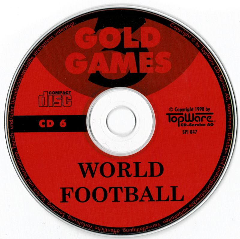 Gold Games 3 DOS Media Disc 6