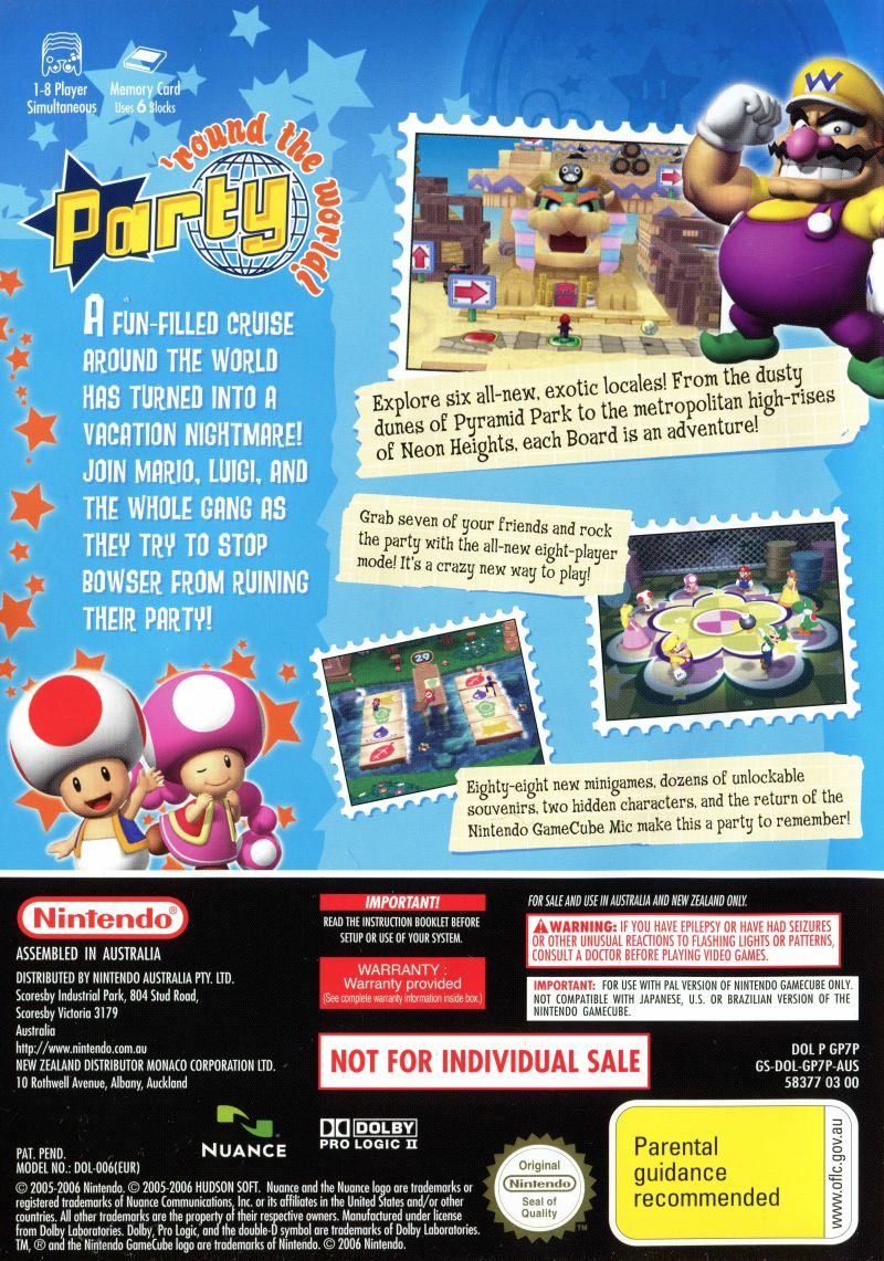Mario Party 8 Gamecube - Page 3 - Party City Costumes