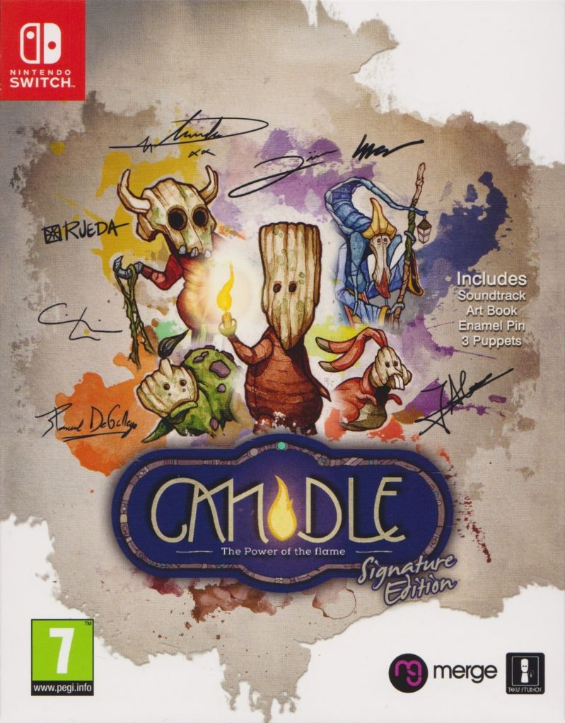 Candle: The Power of the Flame (Signature Edition) Nintendo Switch Front Cover