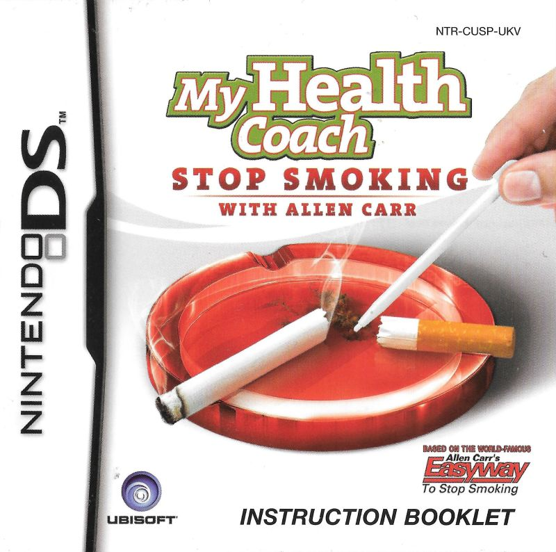 My Stop Smoking Coach Allen Carrs Easyway 2008 Iphone Box Cover