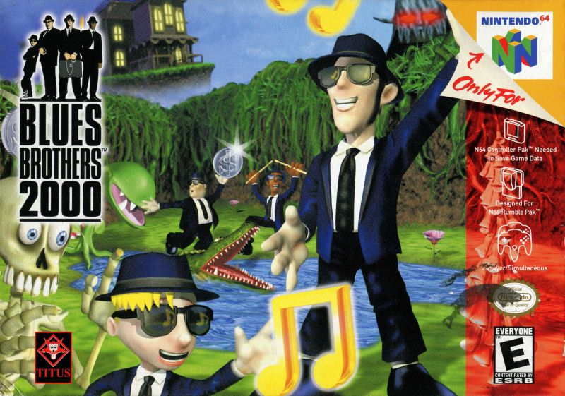 Blues Brothers 2000 Nintendo 64 Front Cover