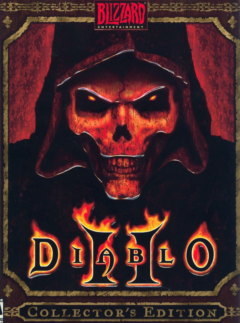 Diablo II (Collector's Edition) Windows Front Cover