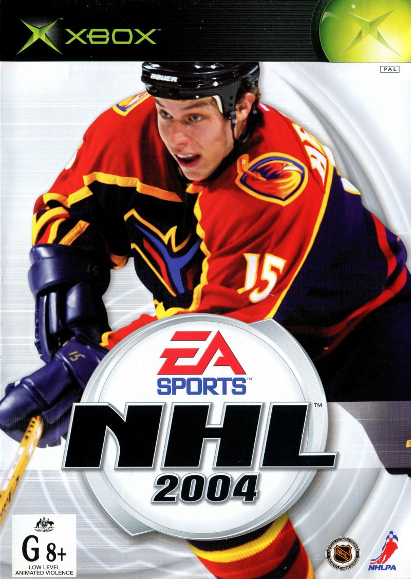 NHL 2004 Xbox Front Cover