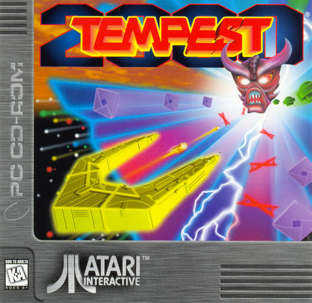 Tempest 2000 DOS Other Jewel Case - Front