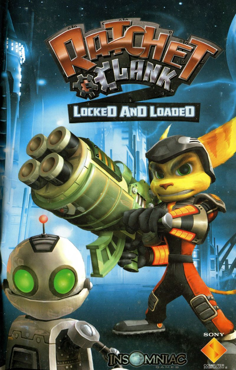 Ratchet & Clank: Going Commando (2003) PlayStation 2 box cover art
