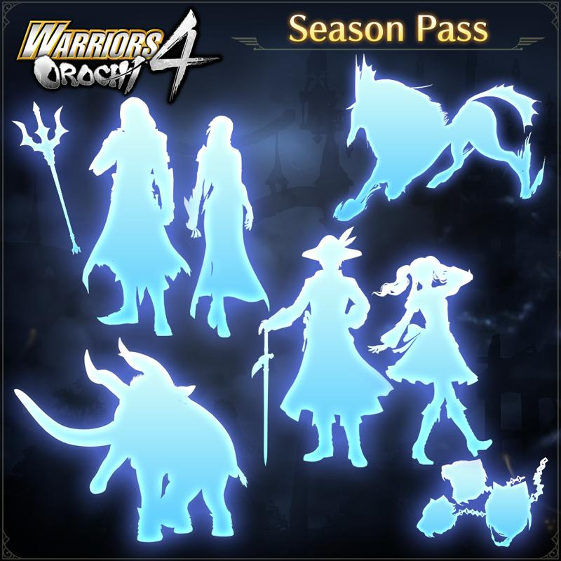 Warriors Orochi 4: Season Pass For Nintendo Switch (2018