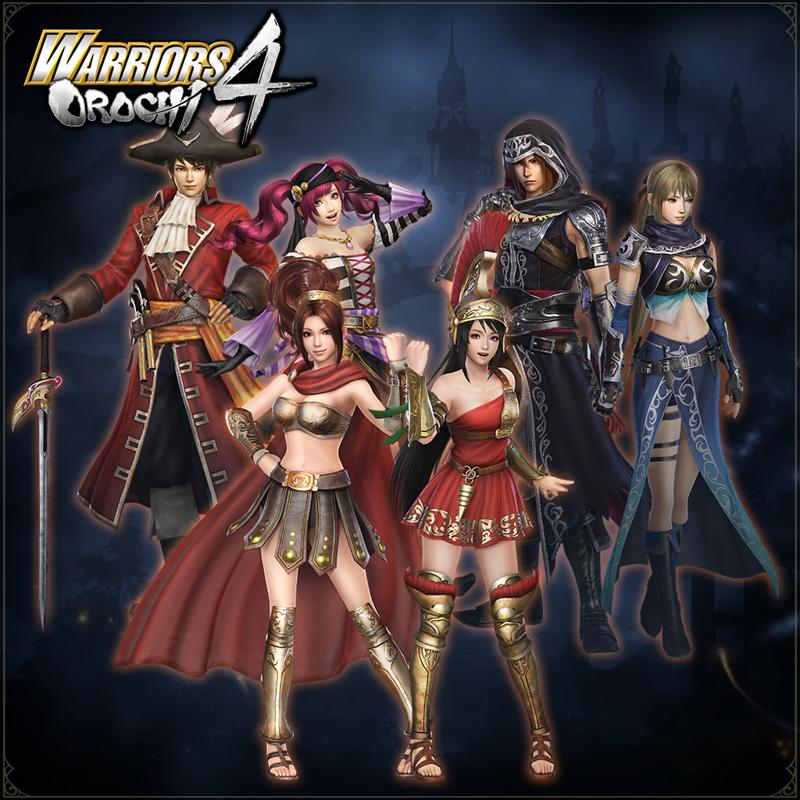 Warriors Orochi 4: Special Costumes Pack For Nintendo