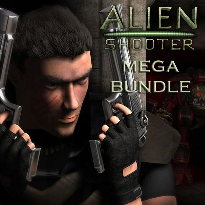 Alien Shooter + Expansions PS Vita Front Cover